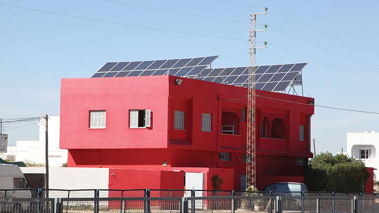 panneau photovoltaïque Sfax