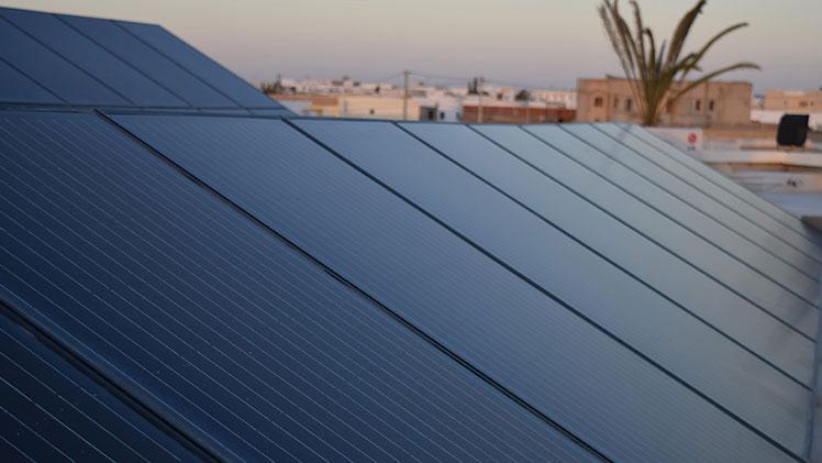 installation photovoltaïque Kebili